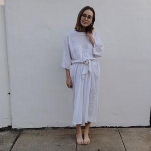 Vintage Simple Maxi Dress